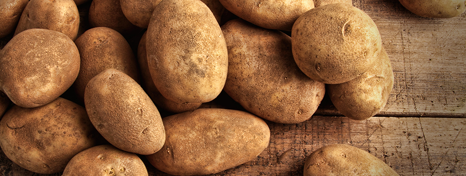Daily shipments of the finest potatoes from Idaho and Pennsylvania
